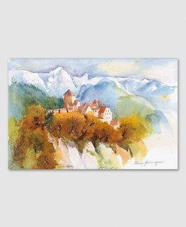 Schloss Vaduz/Sommer