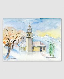 Duxkapelle Schaan/Winter