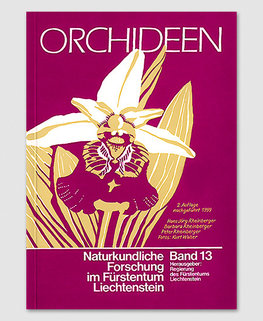 Orchideen des Fürstentums Liechtenstein