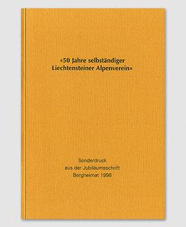 50 Jahre selbständiger Alpenverein