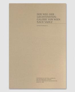 Der Weg von der Liechtenstein-Galerie von Wien nach Vaduz