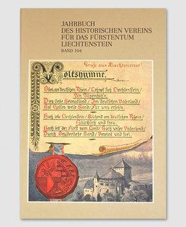 Jahrbuch des Historischen Vereins Band 104