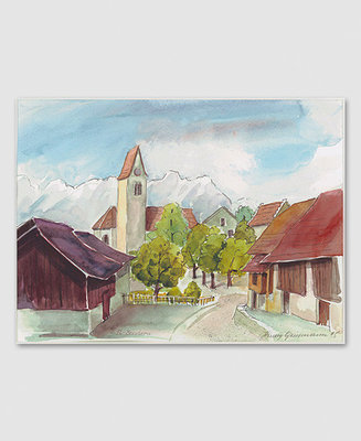 Bendern mit Pfarrkirche