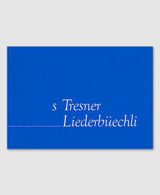 s'Tresner Liederbüechli