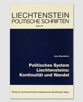 LPS 18 - Polit. System Liechtensteins: Kontinuität u. Wandel