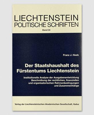 LPS 24 - Der Staatshaushalt des Fürstentums Liechtenstein