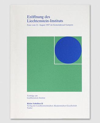 KS 11 - Eröffnung des Liechtenstein-Instituts
