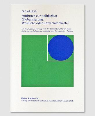 KS 36 - Politischen Globalisierung: Westliche oder universale