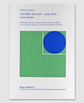 KS 41 - GEORG MALIN - seine Zeit, seine Kunst