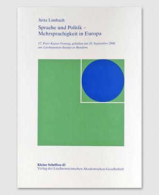 KS 43 - Sprache und Politik - Mehrsprachigkeit in Europa