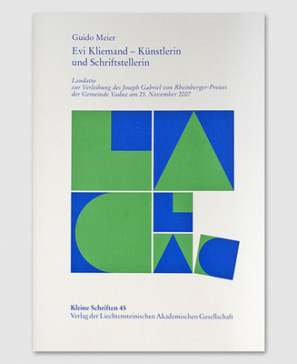 KS 45 - Evi Kliemand - Künstlerin und Schriftstellerin