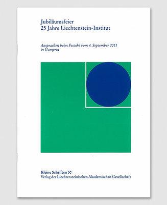 KS 50 - Jubiläumsfeier 25 Jahre Liechtenstein-Institut