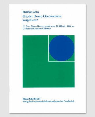 KS 51 - Hat der Homo Oeconomicus ausgedient?