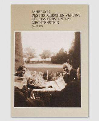 Jahrbuch des Historischen Vereins Band 103