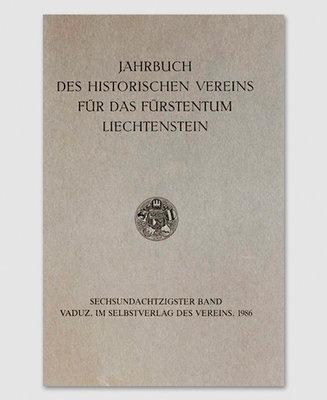 Jahrbuch des Historischen Vereins Band 86