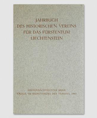 Jahrbuch des Historischen Vereins Band 83