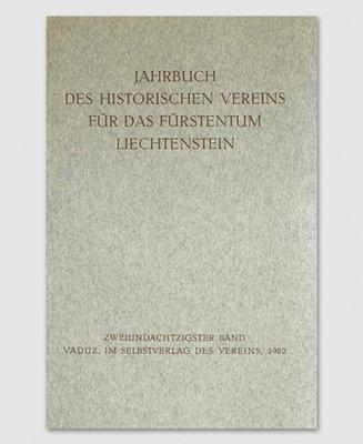 Jahrbuch des Historischen Vereins Band 82