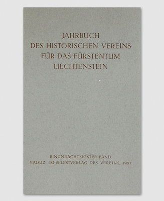 Jahrbuch des Historischen Vereins Band 81