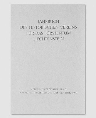 Jahrbuch des Historischen Vereins Band 79