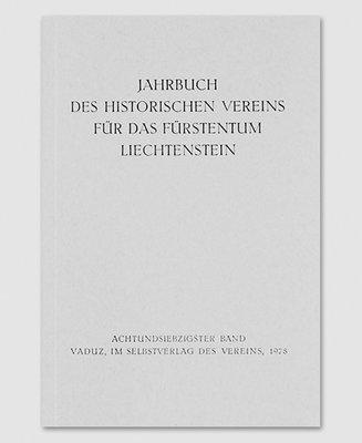 Jahrbuch des Historischen Vereins Band 78