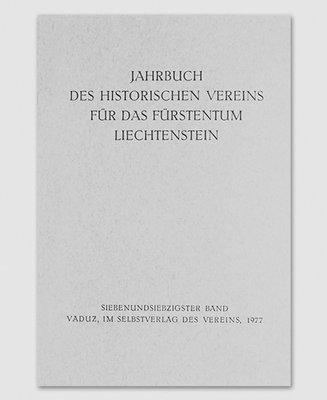 Jahrbuch des Historischen Vereins Band 77