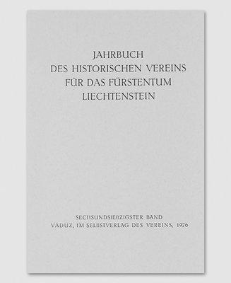 Jahrbuch des Historischen Vereins Band 76