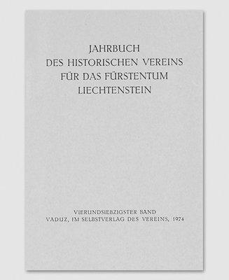 Jahrbuch des Historischen Vereins Band 74
