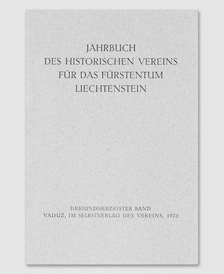 Jahrbuch des Historischen Vereins Band 73