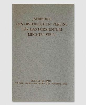 Jahrbuch des Historischen Vereins Band 70