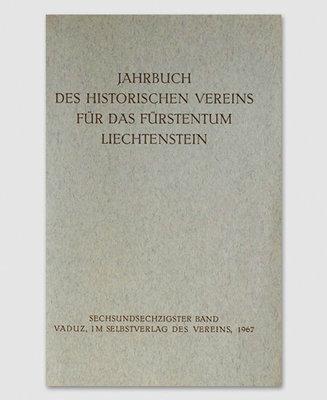 Jahrbuch des Historischen Vereins Band 67