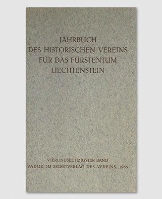 Jahrbuch des Historischen Vereins Band 64
