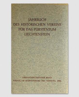 Jahrbuch des Historischen Vereins Band 63
