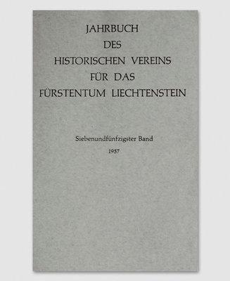 Jahrbuch des Historischen Vereins Band 57
