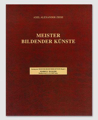 Sonderdruck, M. Wanger, aus Meister bildender Künste Band