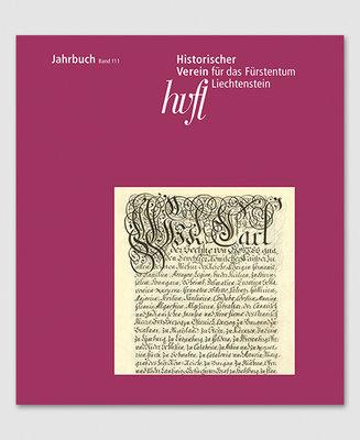 Jahrbuch des Historischen Vereins Band 111
