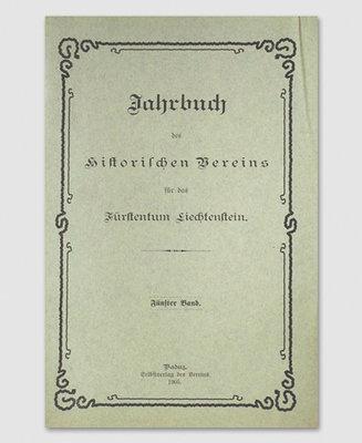 Jahrbuch des Historischen Vereins Band 05