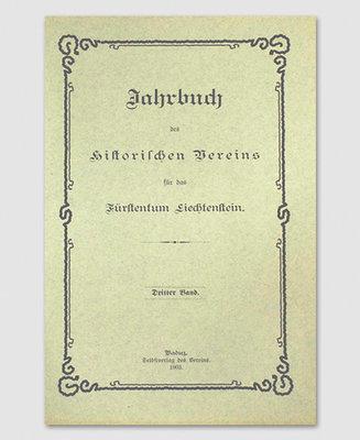 Jahrbuch des Historischen Vereins Band 03