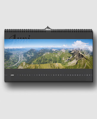 Panoramakalender 2018 - 50 x 28 cm