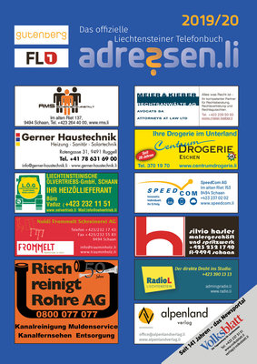 Telefonbuch 2019/20