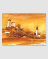 Schloss Gutenberg und Pfarrkirche