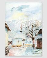 Rofenberg, Eschen/Winter