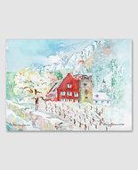 Rotes Haus, Vaduz/Winter