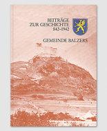 Balzers - Beiträge zur Geschichte 842-1942
