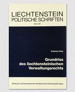 LPS 23 - Grundriss des liechtensteinischen Verwaltungsrechts