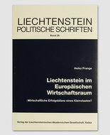 LPS 29 - Liechtenstein im Europäischen Wirtschaftsraum