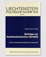 LPS 34 - Beiträge zur liechtensteinischen Identität