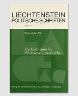 LPS 43 - Liechtensteinisches Verfassungsprozessrecht