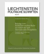 LPS 54 - Beiträge zum liechtensteinischen Recht aus nationaler und internationaler Perspektive