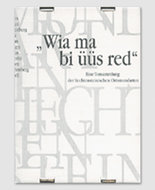"Ruggell: ""Wia ma bi üüs red"""