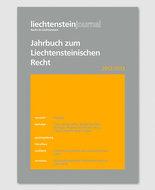 Jahrbuch zum Liechtensteinischen Recht 2012/2013